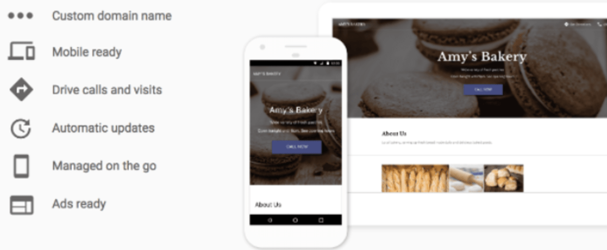 Google Releases A Website Builder for Small Businesses