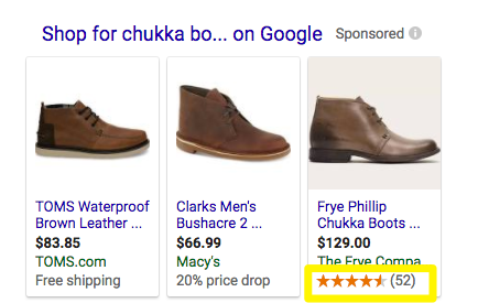 chukka boot star rating