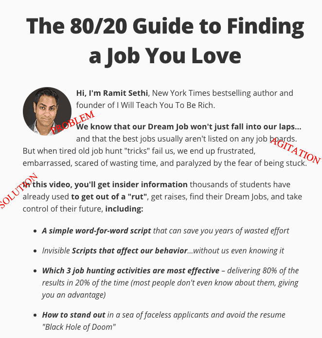 80/20 Guide to Finding a Job You Love