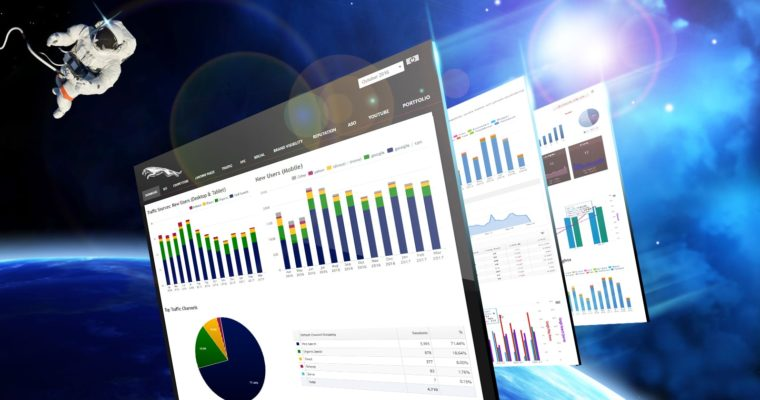 Finally! A Marketing Dashboard That Puts You Light Years Ahead