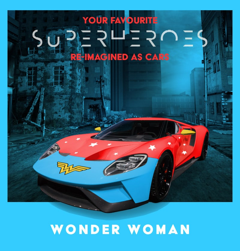 our Favourite Superheroes Reimagined As Cars