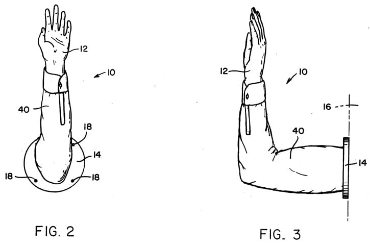 "An Apparatus for simulating a ""high five"""