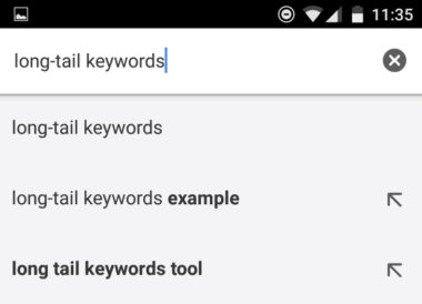 how to create long tail keywords