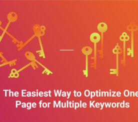 The Easiest Way to Optimize One Page for Multiple Keywords