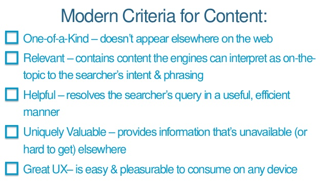 high-quality content criteria rand fishkin