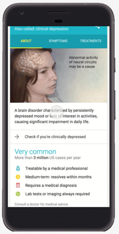 Google Adds a Depression Screening Tool to Search Results