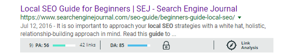 Local SEO Guide for Beginners - Google SERP