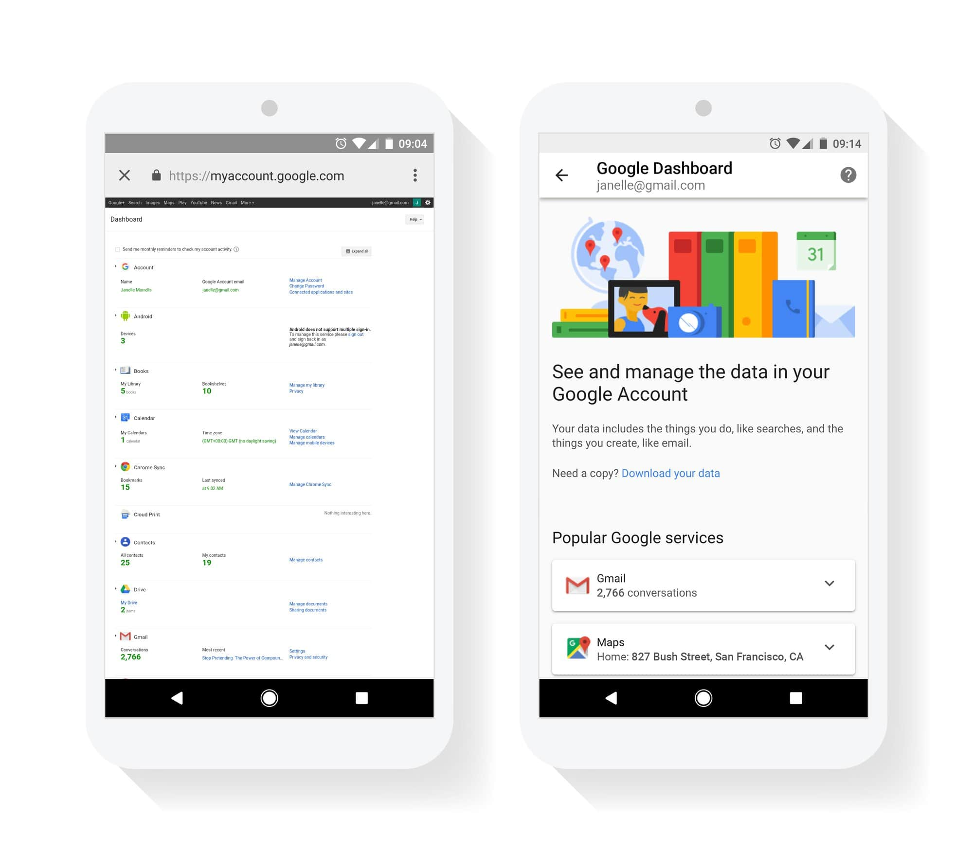 View/Change What Google Knows About You With Redesigned Dashboard