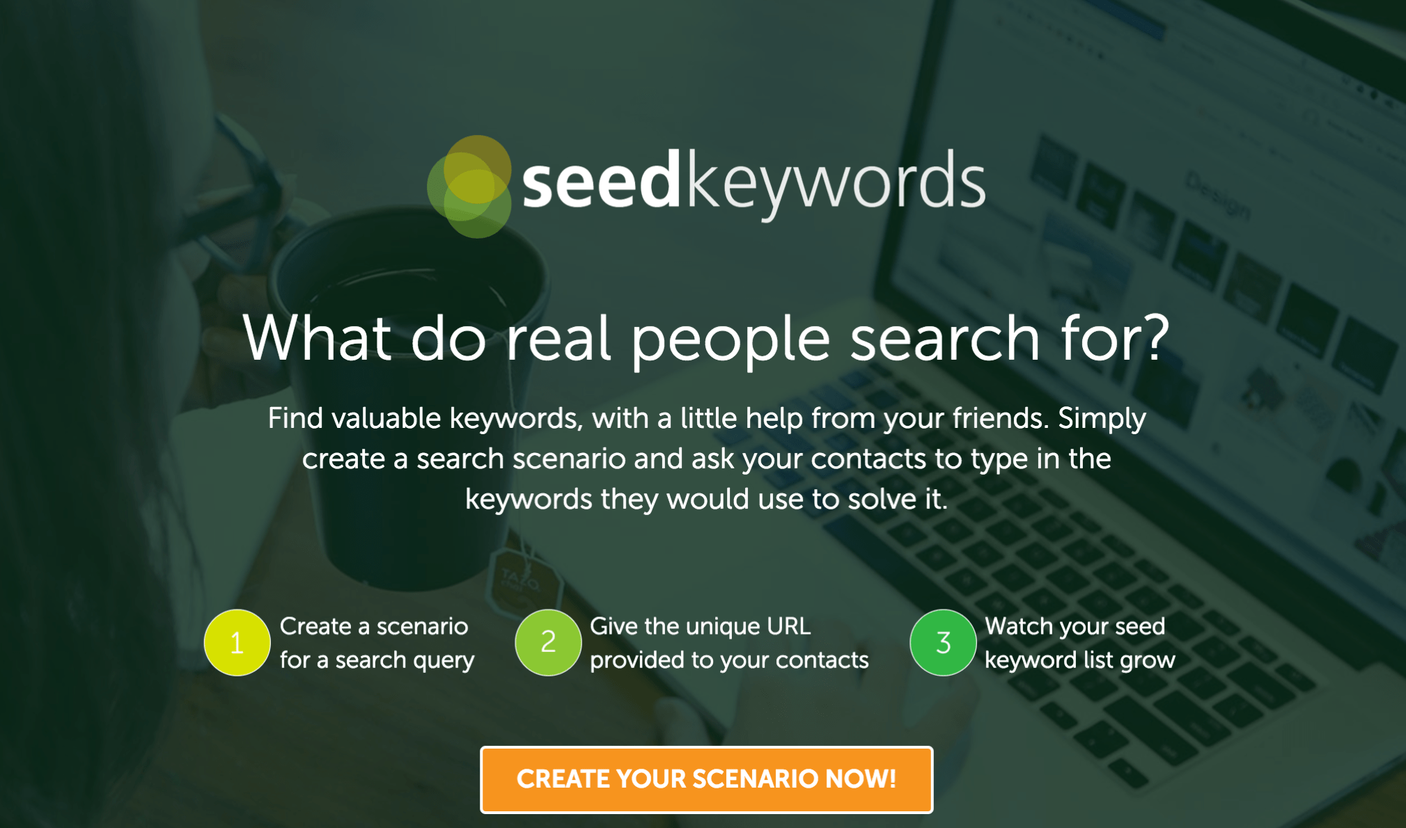 seed keywords screen shot