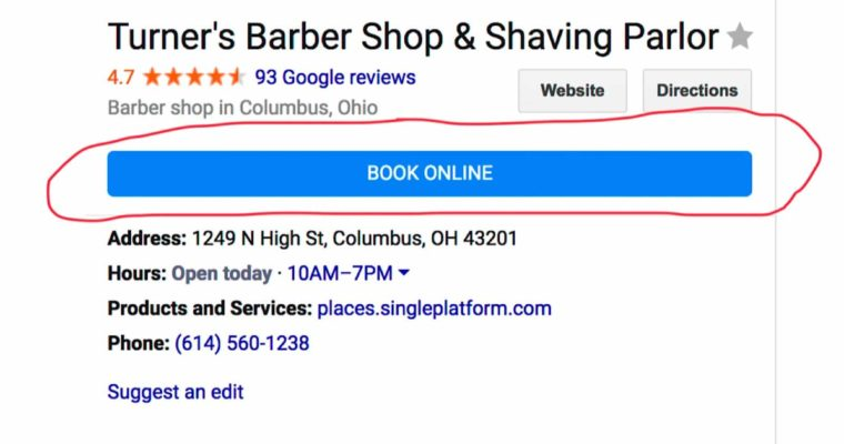 Google My Business Pages Can Now Take Direct Bookings