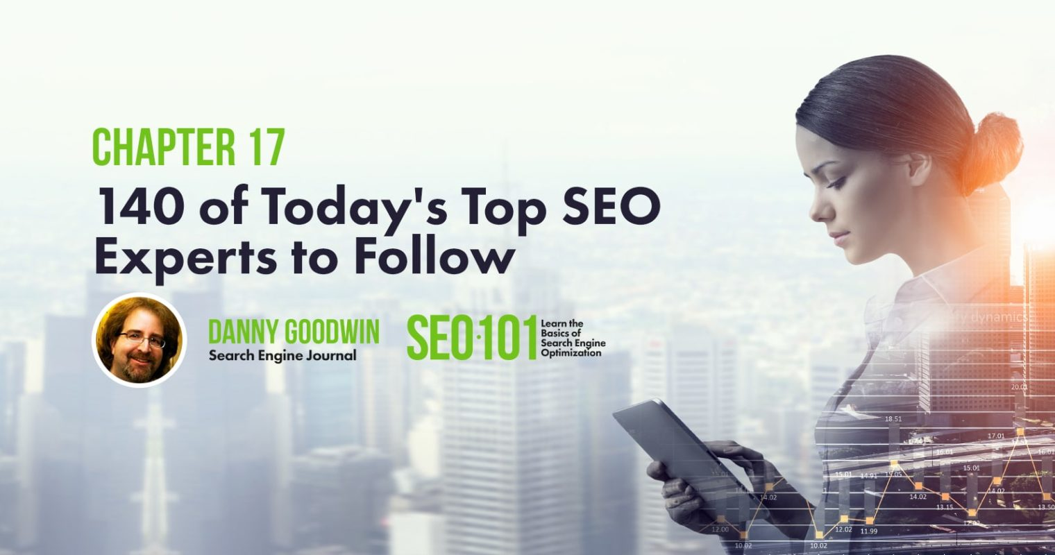 140 Top SEO Experts You Should Be Following