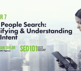 How People Search: Understanding User Intent