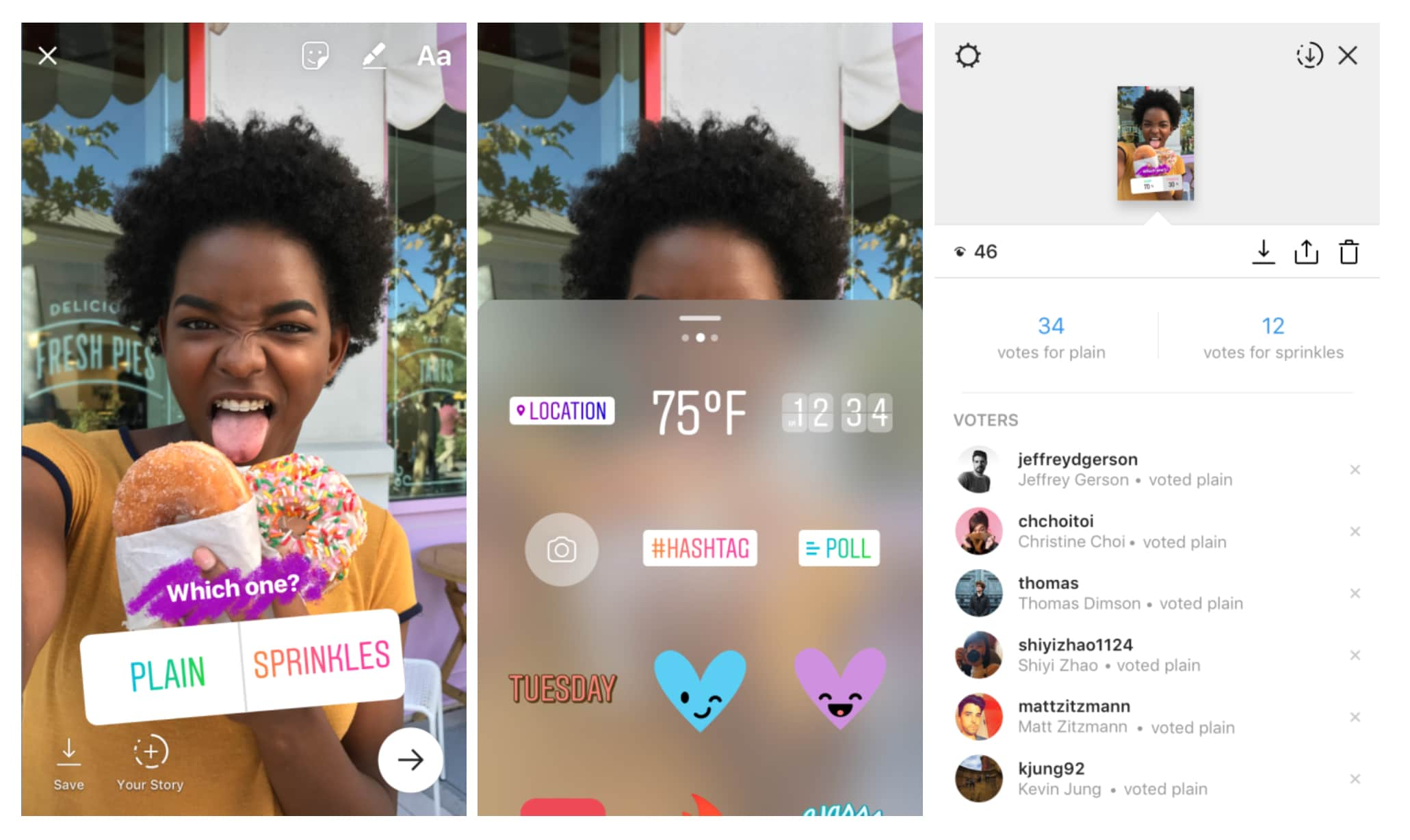 Instagram Stories Can Now Have Interactive Polls