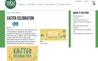 whole foods easter