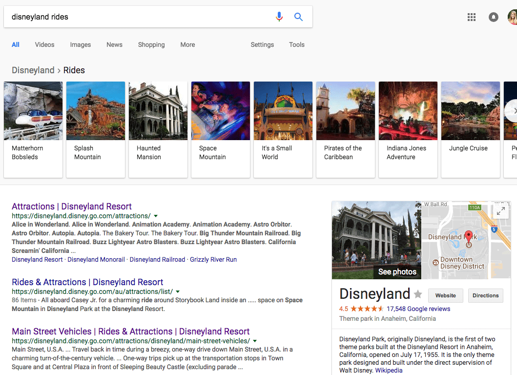 A Complete List of the Different Types of Featured Snippets