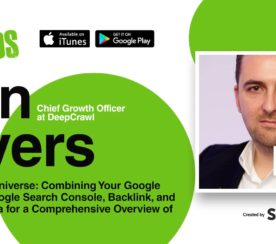 How to Make Search Data the Center of Your Universe [PODCAST]