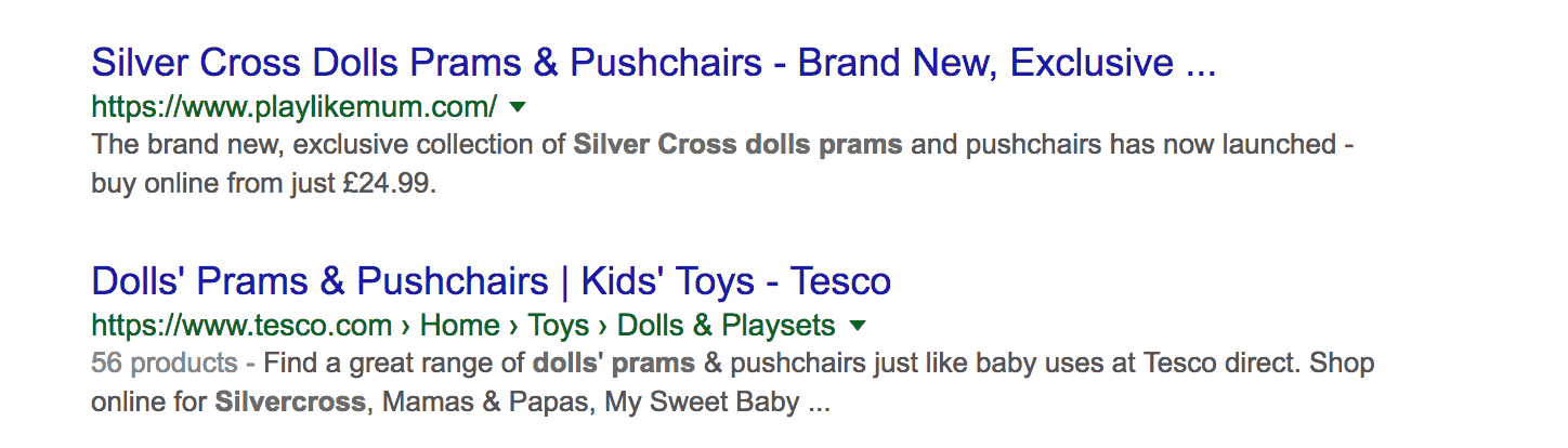 Silver Cross Dolls Pushchairs - Google.co.uk
