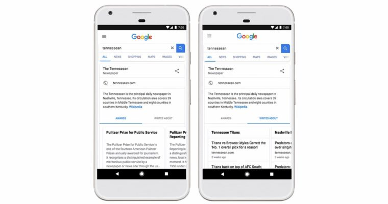 Google to Give Publishers Dedicated Knowledge Panels in Search Results