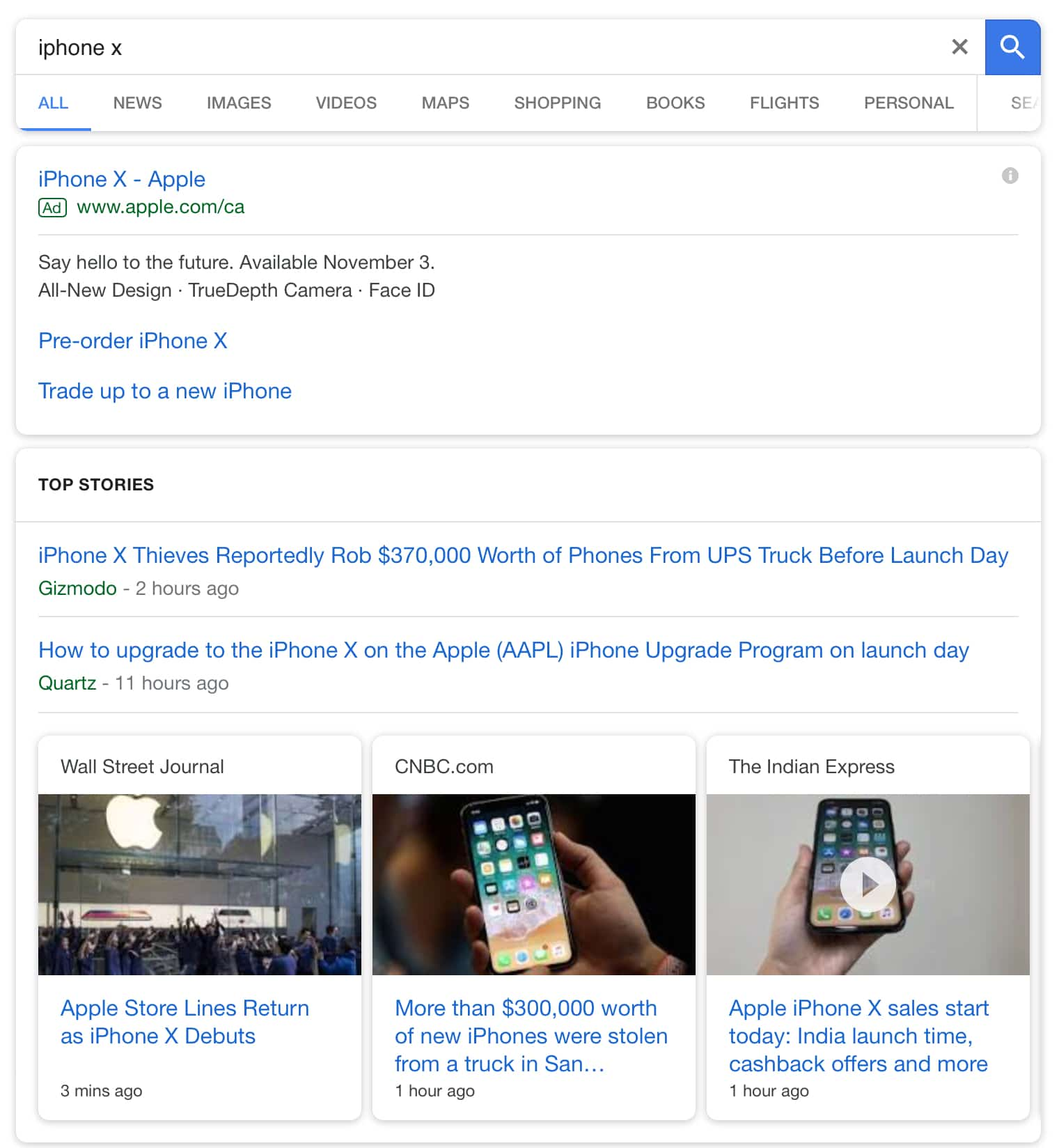 Google Rolls Out a Fresh Look for Mobile Search Results