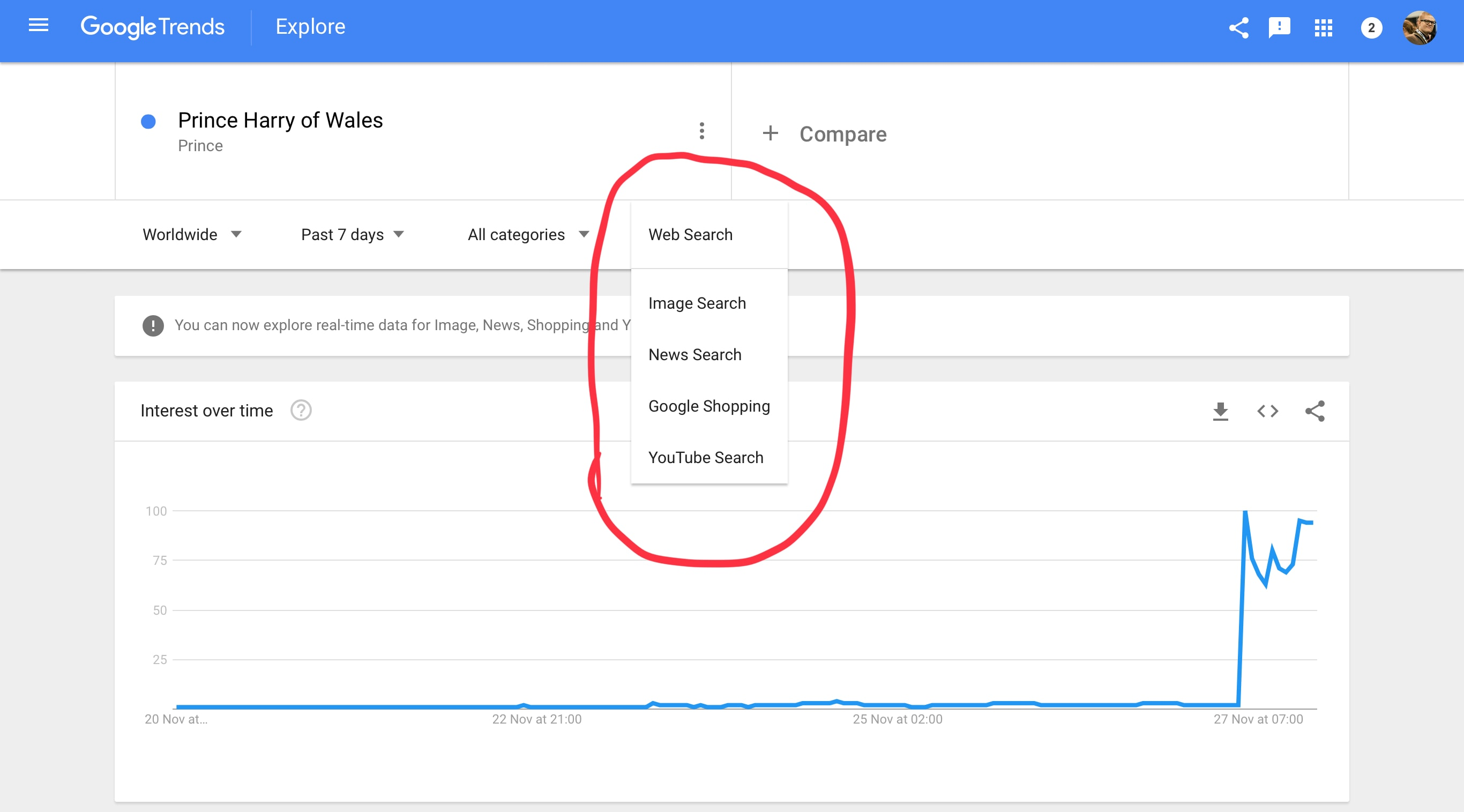 Google to Provide More Real-time Data in Google Trends