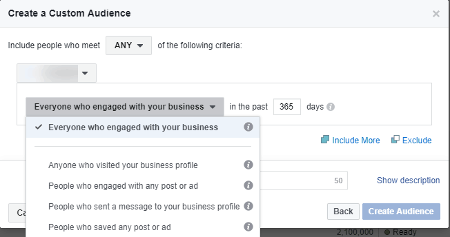 facebook - Instagram Business Profile Interaction