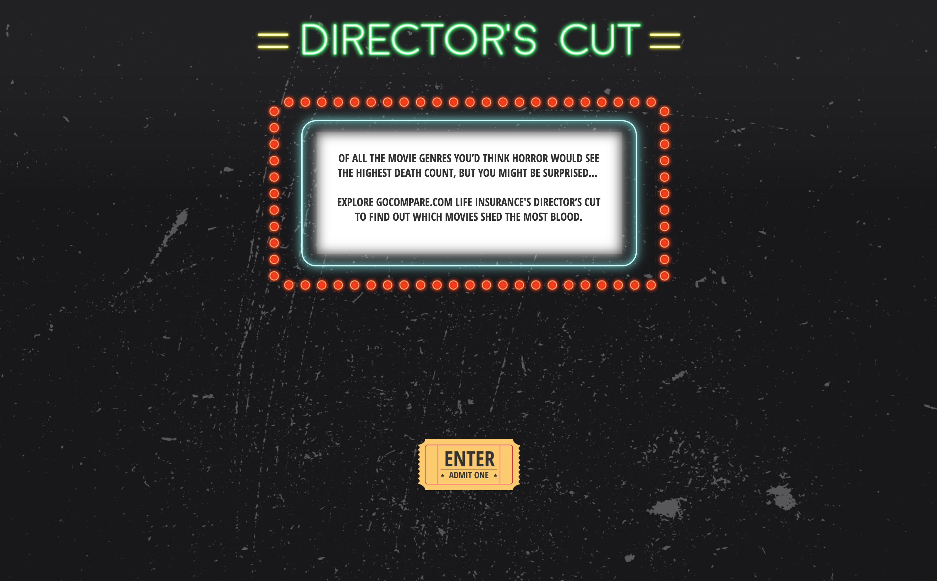 Director's Cut - GoCompare
