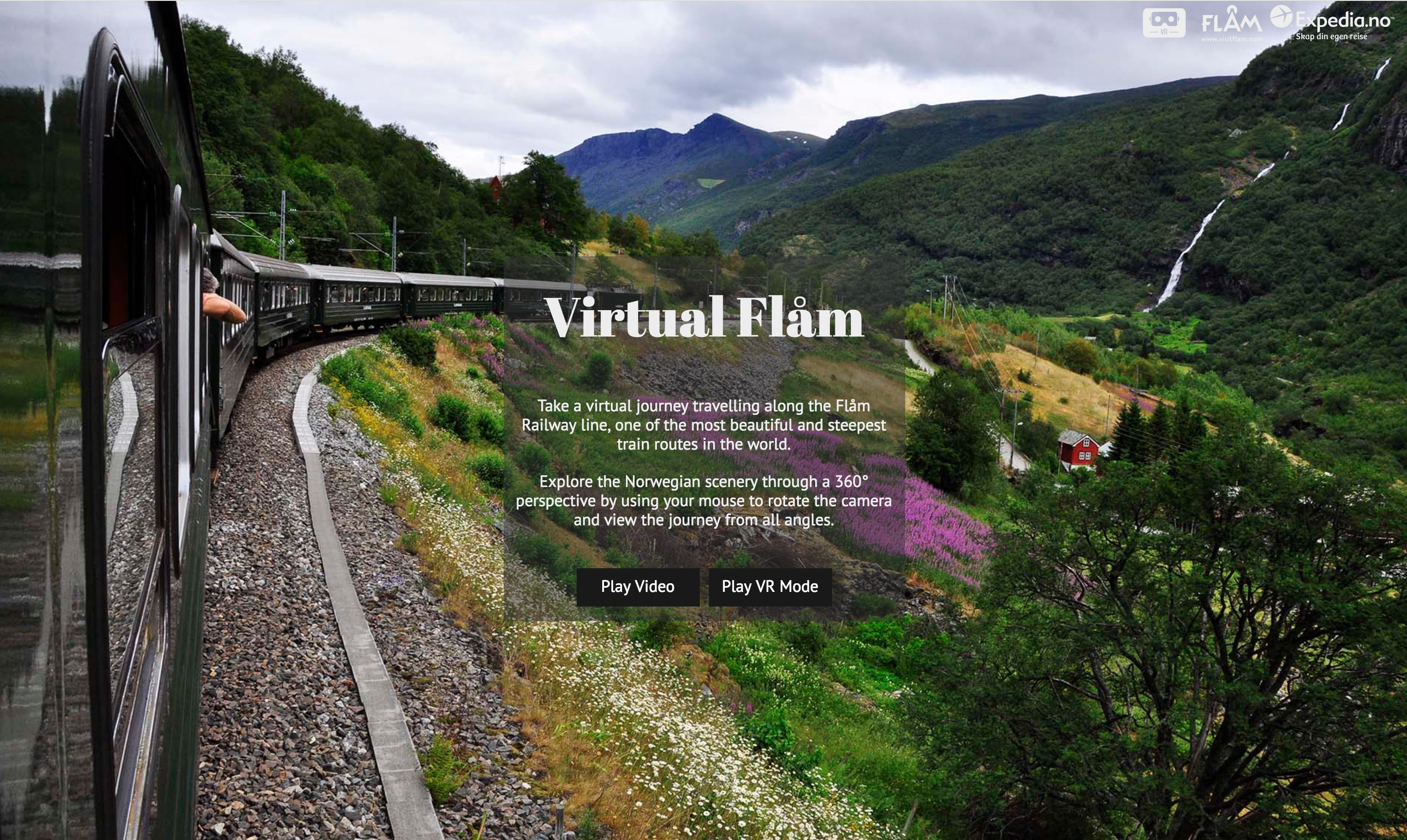Expedia Norway - Virtual Flam