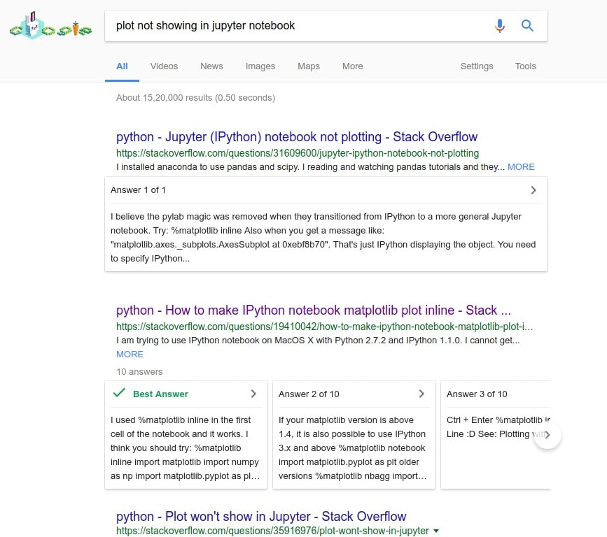 Google Search is Highlighting Accepted Answers from Stack Overflow