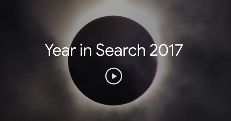 Google's Year in Search: Top Queries in 2017