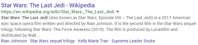 star wars last jedi meta description