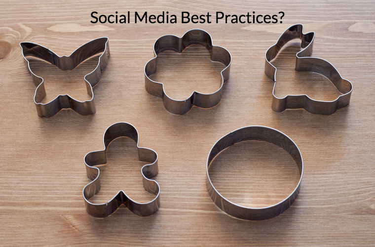 Social media cookie cutter tactics