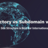 Subdomain vs. Subdirectory vs. ccTLD: Which Is Best in 2018