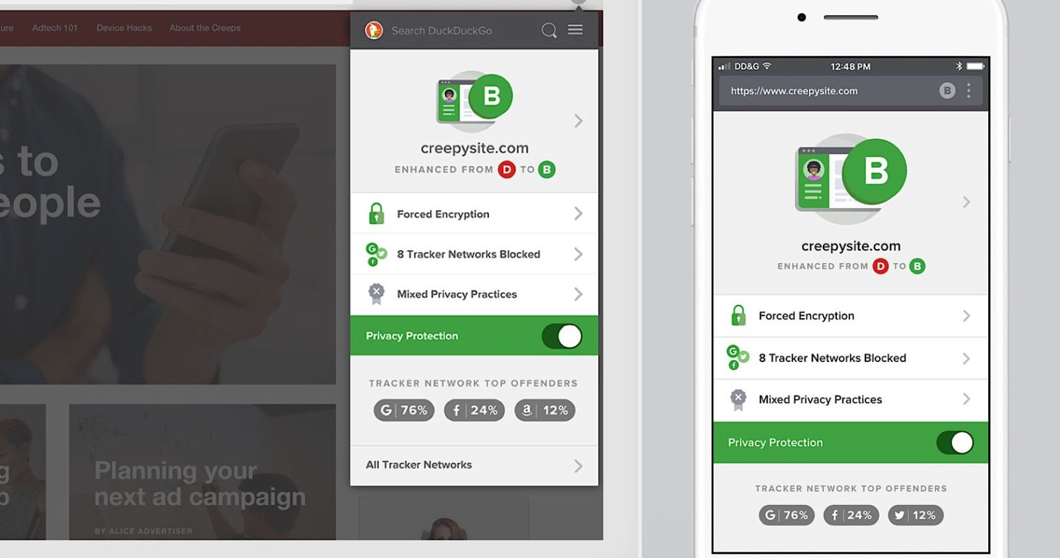 DuckDuckGo Brings Private Search to Mobile App & Browser Extension