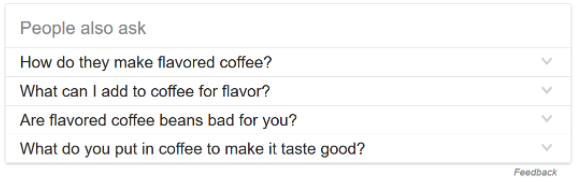 how to make flavored coffee - people also ask