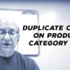 Google Advice: Duplicate Content on Product & Category Pages