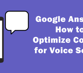 How to Optimize Content for Google Voice Search