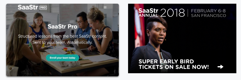 big ticket clients SaaStr conference