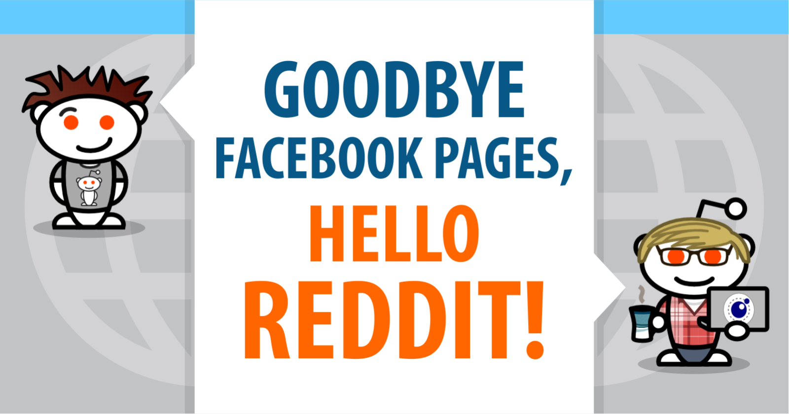 Goodbye Facebook Pages, Hello Reddit! by @brentcsutoras