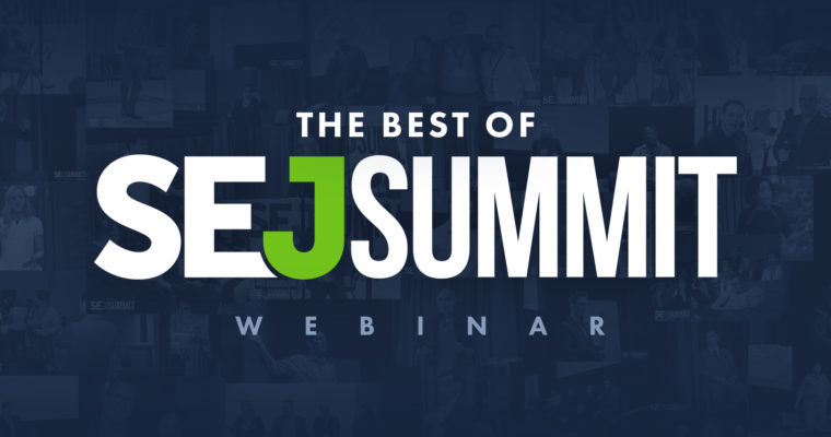 Introducing BOSS: The Best of SEJ Summit