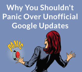 Why You Shouldn't Panic About Unofficial Google Updates