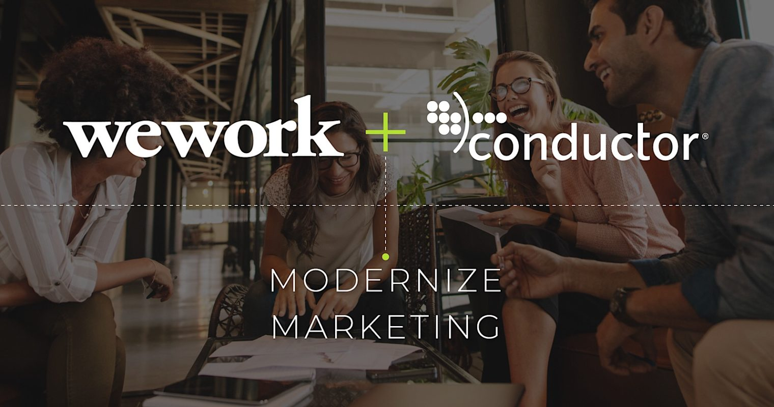 SEO Company Conductor Acquired by WeWork