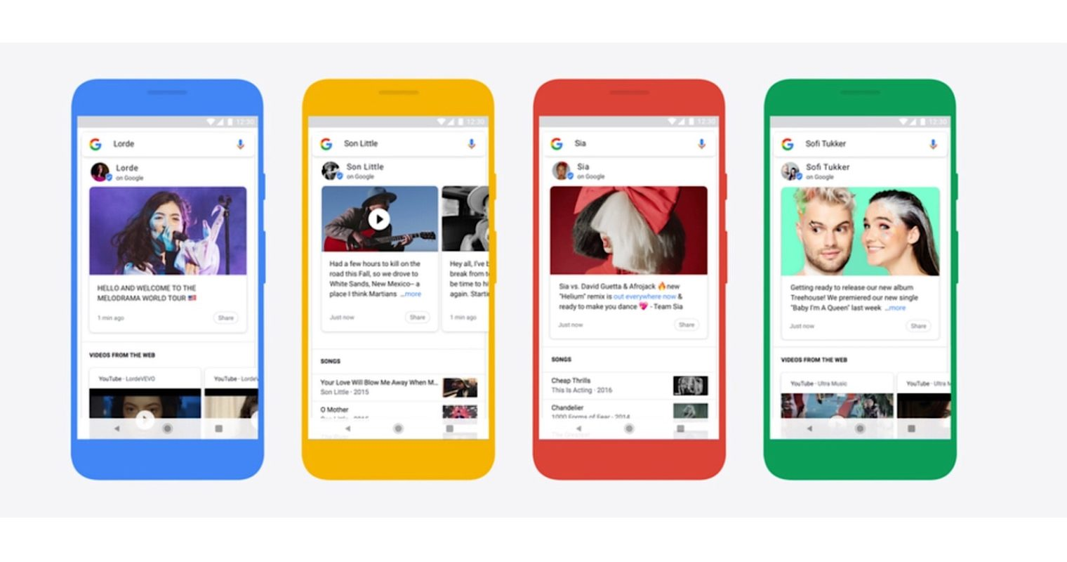 Google Allows Musicians to Post Directly to Search Results