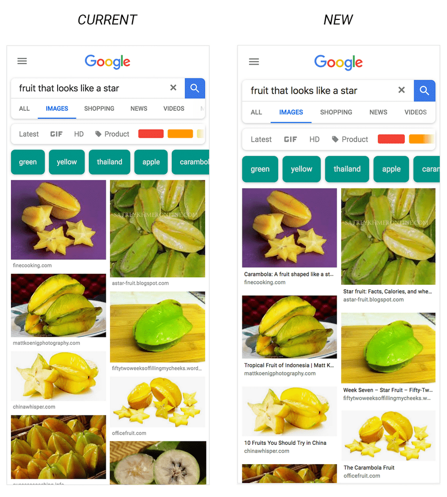 Google Adds Title Tags to Image Search Results