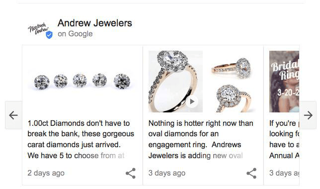 Andrew jewelers information related to product