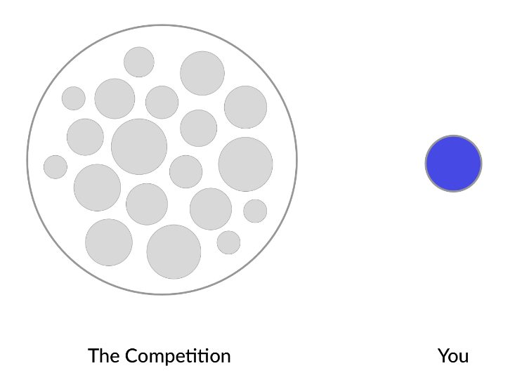 you vs. competition chart
