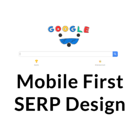 Clues in Google's Mobile SERPs Test