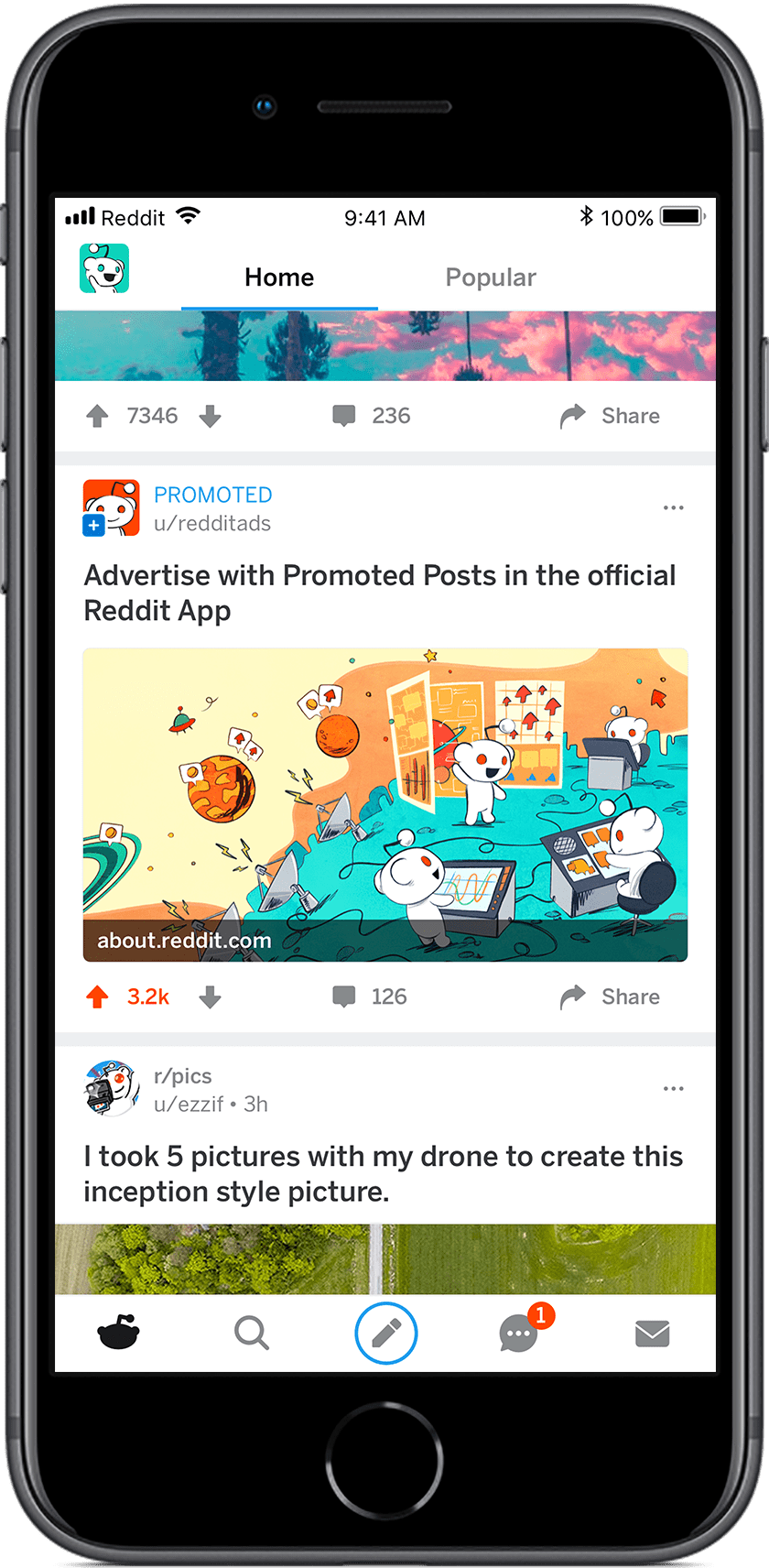 Reddit Launches New Promoted Posts for Mobile