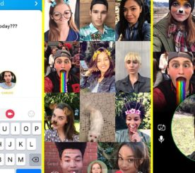 Snapchat Now Offers Group Video Chats