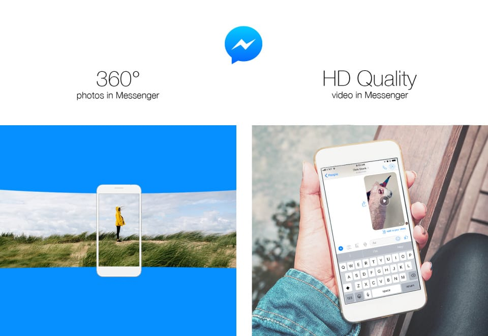 Facebook Messenger Now Supports HD Video and 360-degree Photos