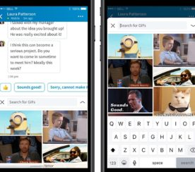 LinkedIn Integrates GIFs into Messaging